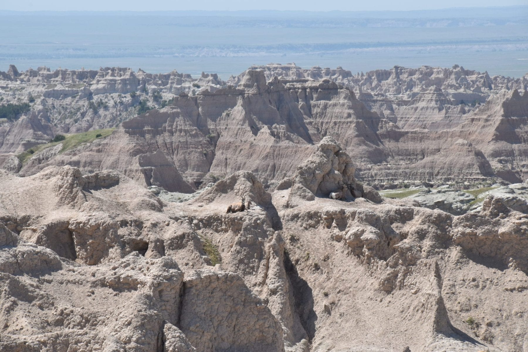 Panorama Point Overlook Badlands National Park