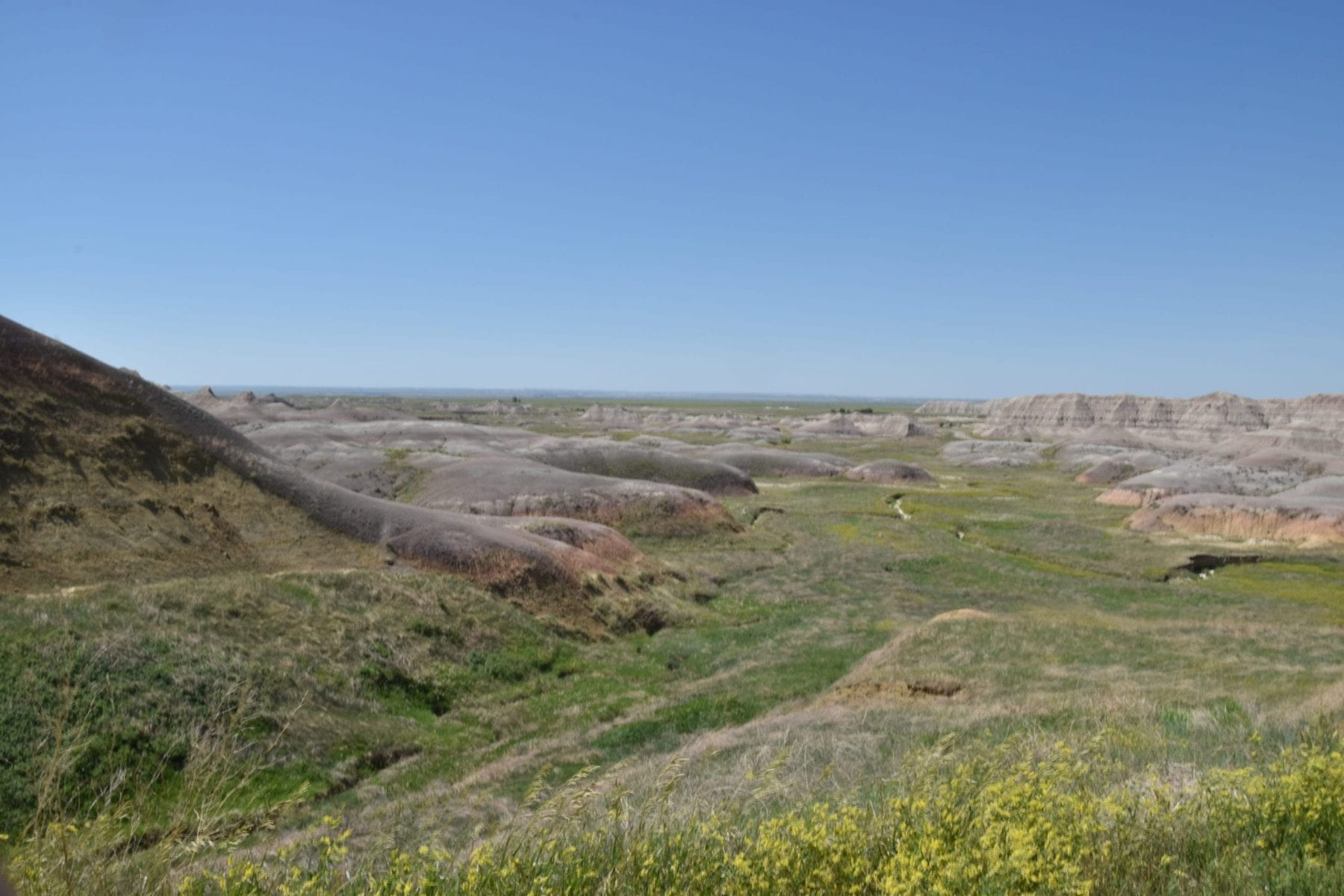 Badlands Grassland hike
