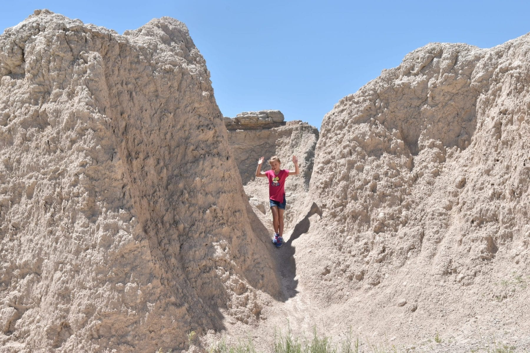 Hiking in the Badlands