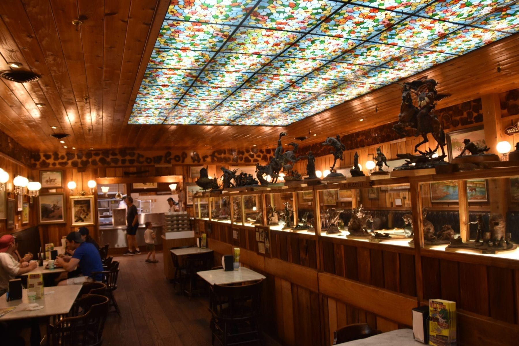 Restaurant at Wall Drug Store