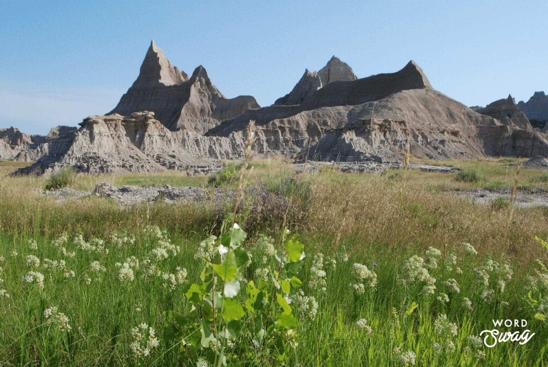 Castle Trail at the Badlands