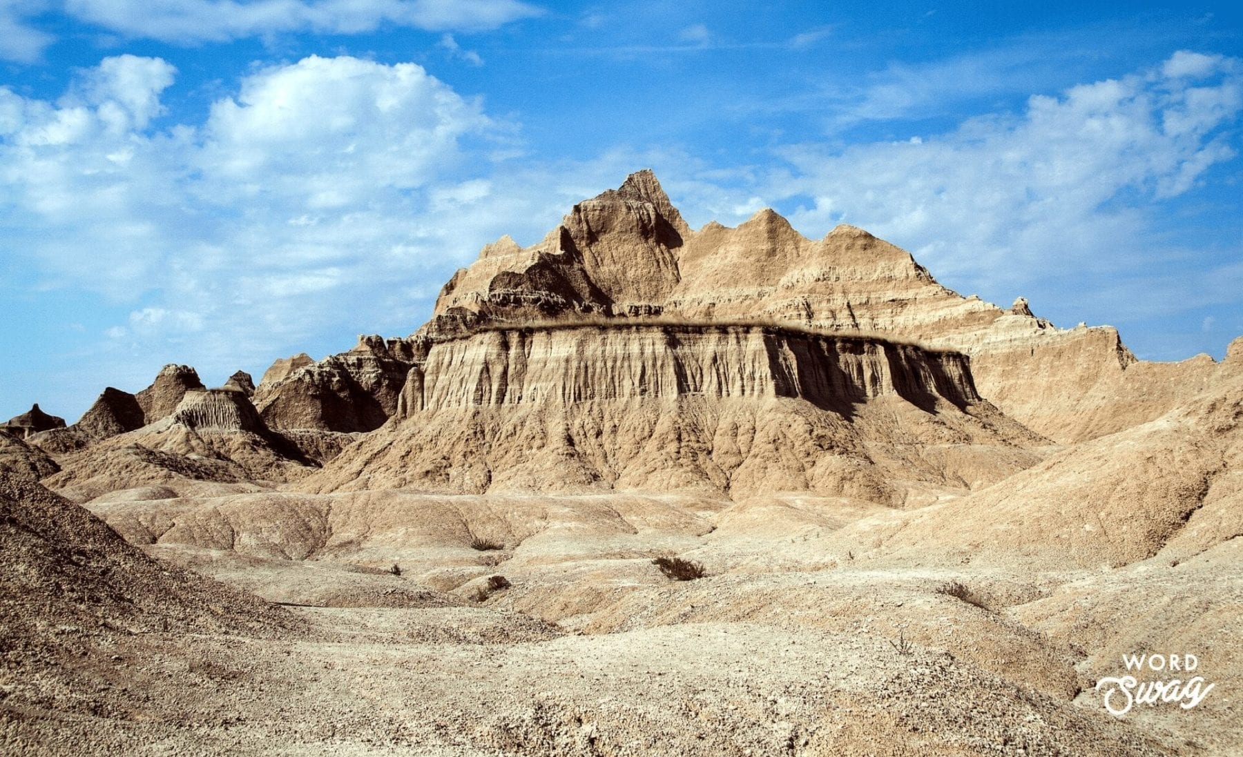 Medicine Root Trail in the Badlands