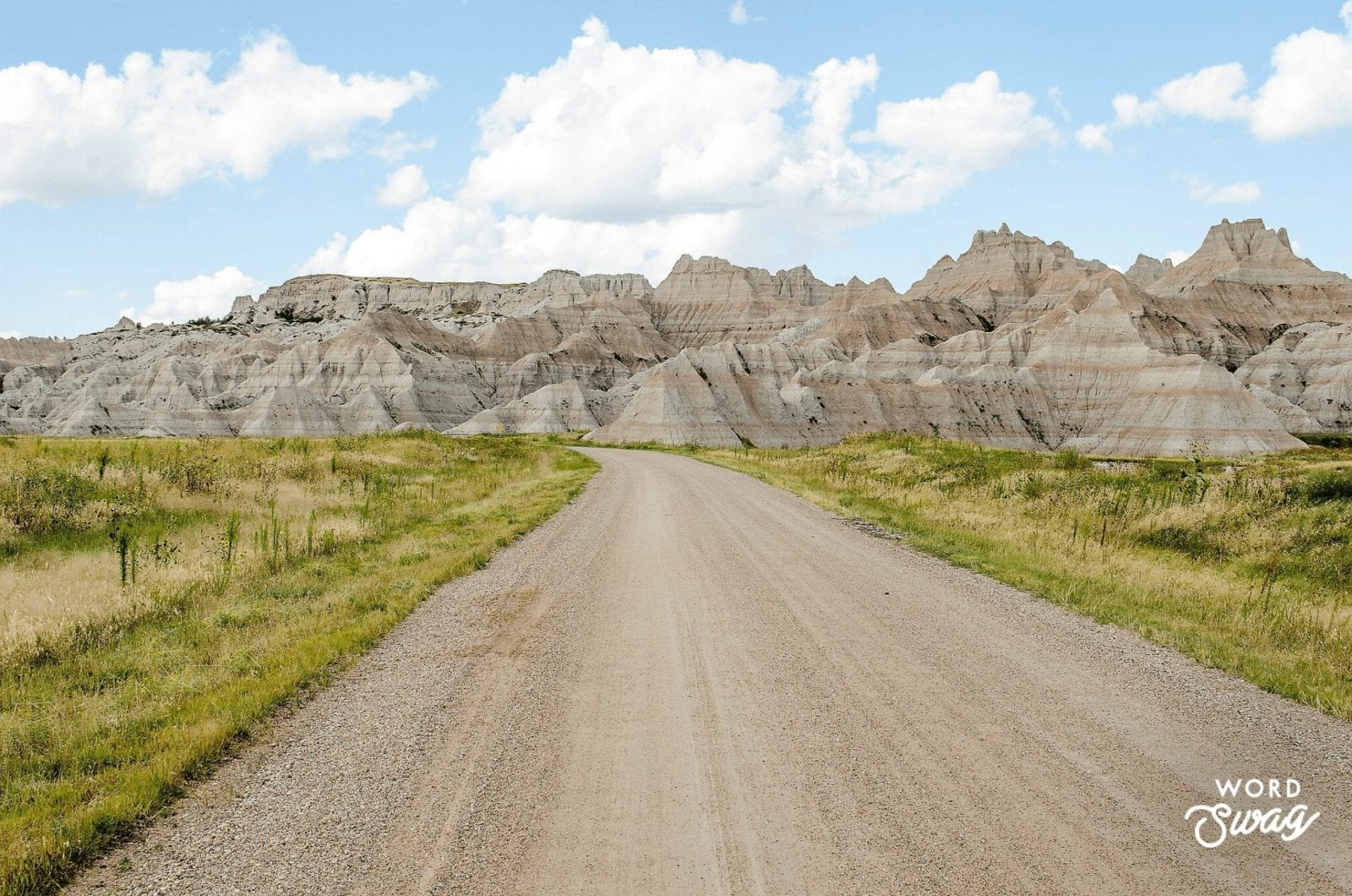 Scenic Drive of Badlands National Park