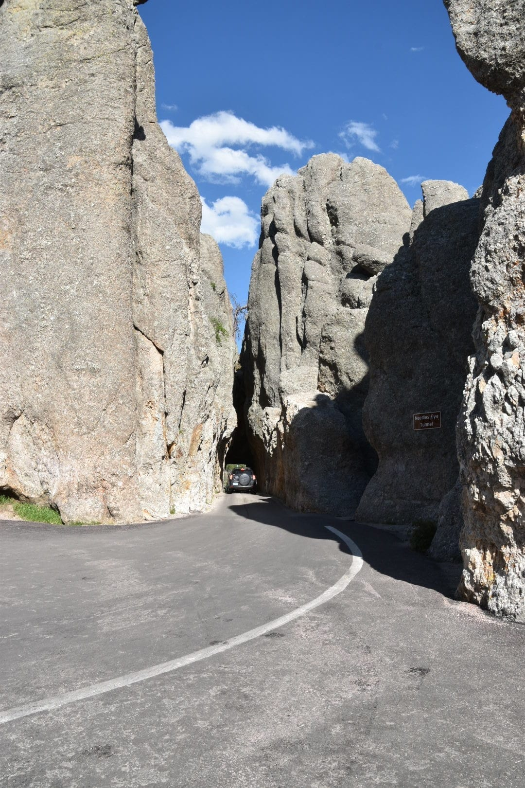 Needles Highway Tunnel at Custer State Park