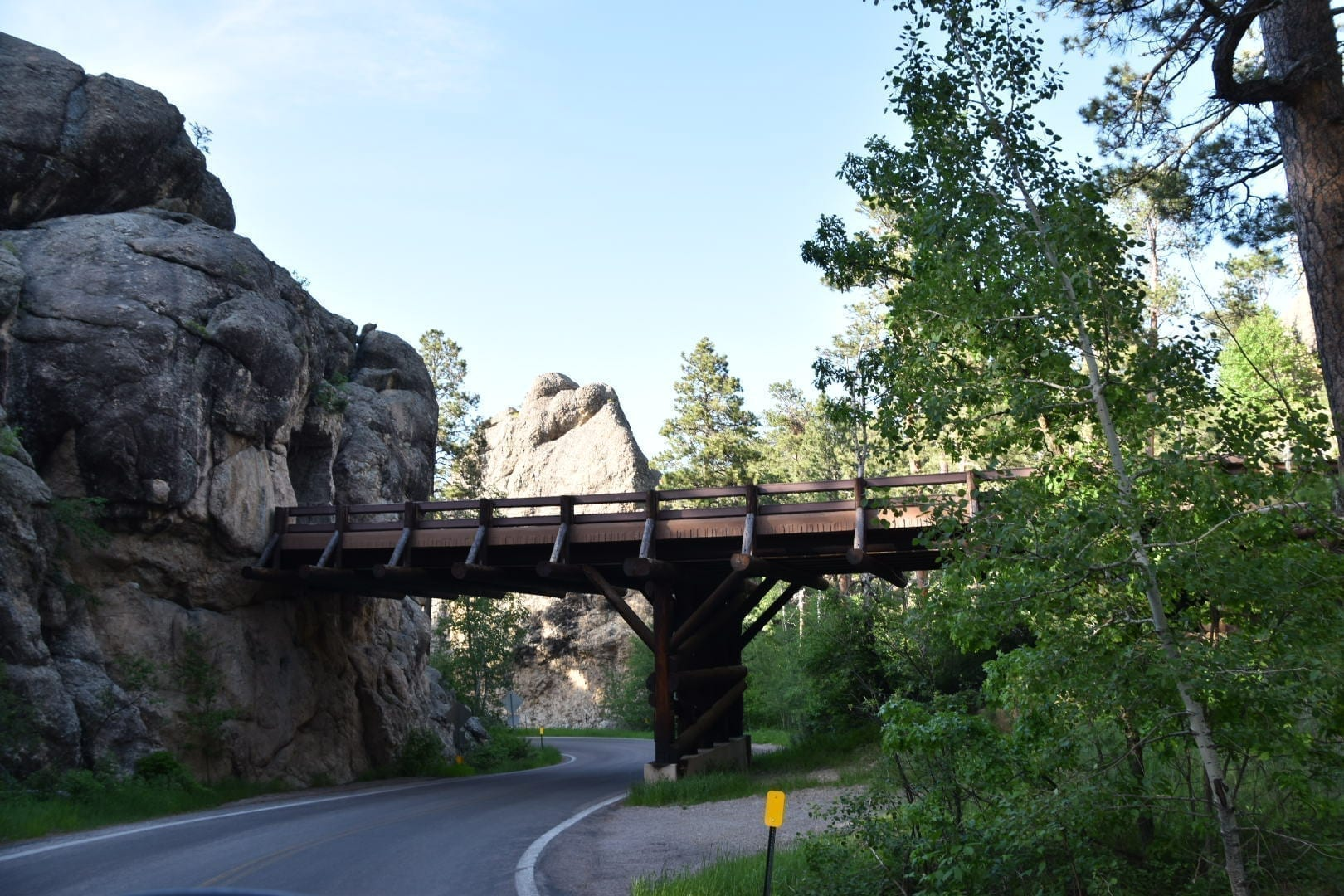 Ironman Highway at Custer State Park