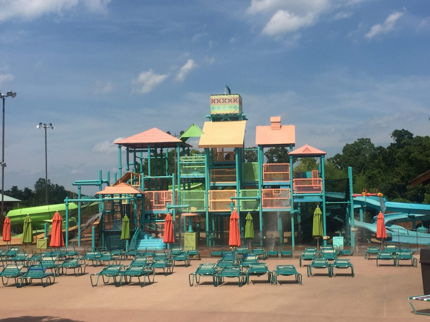 Silver Dollar City White Water Kids Area