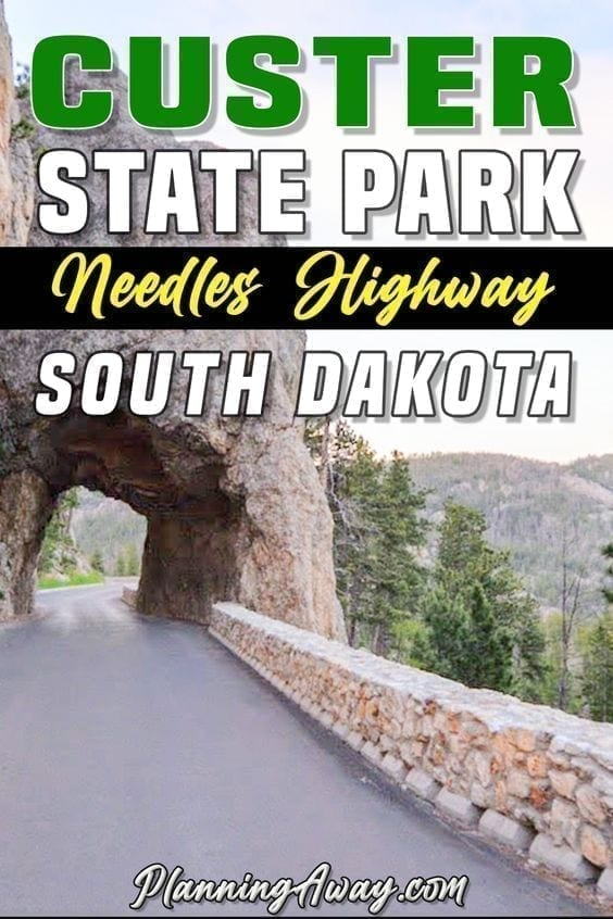 Custer State Park Pin for pinterest