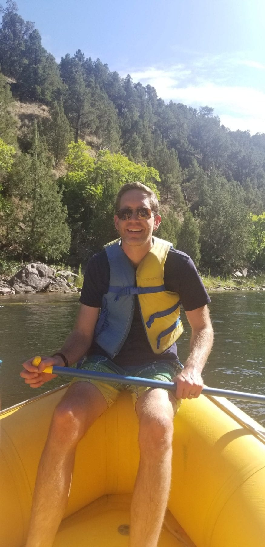 River Rafting on the Green River