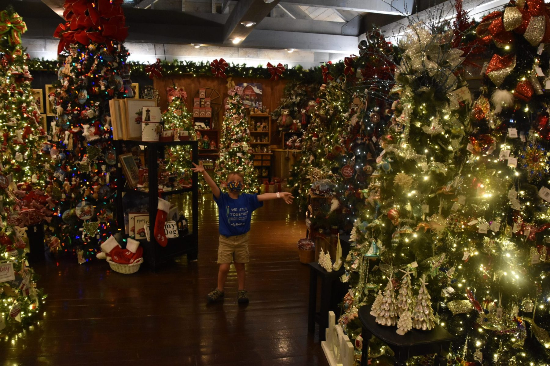 Christmas store at Silver Dollar City