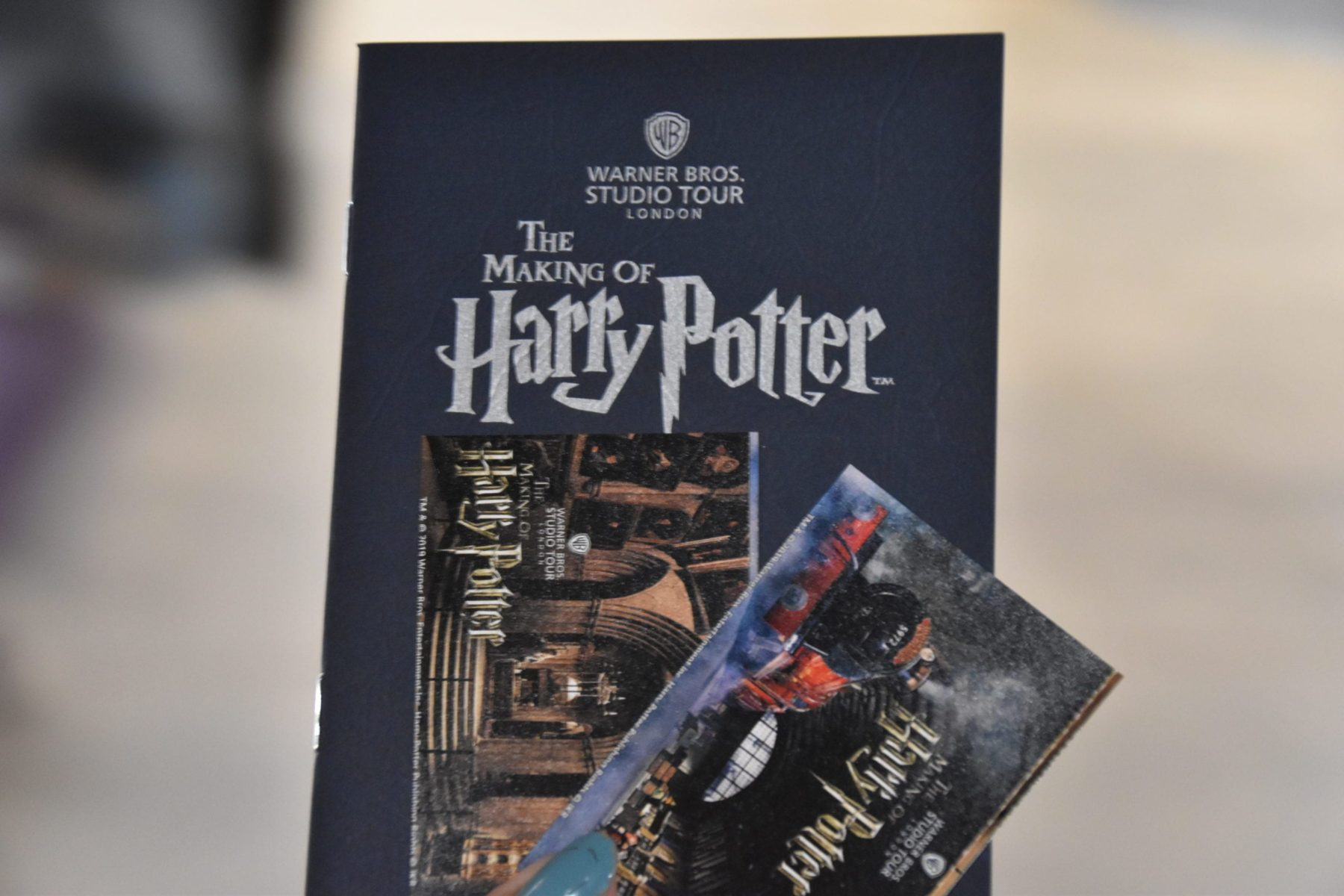 Tickets to Harry Potter Studios London