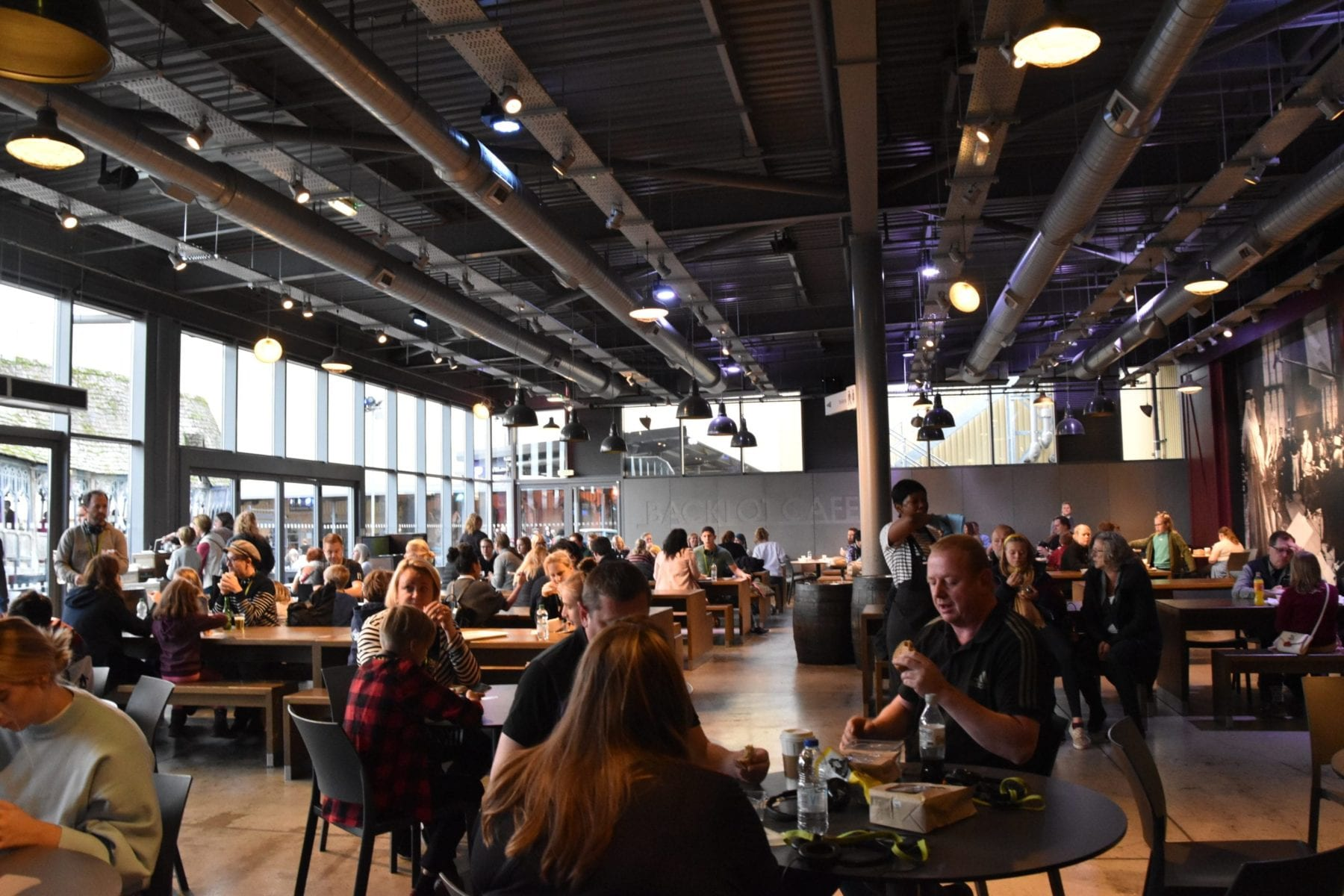 Dining at Harry Potter Studios London