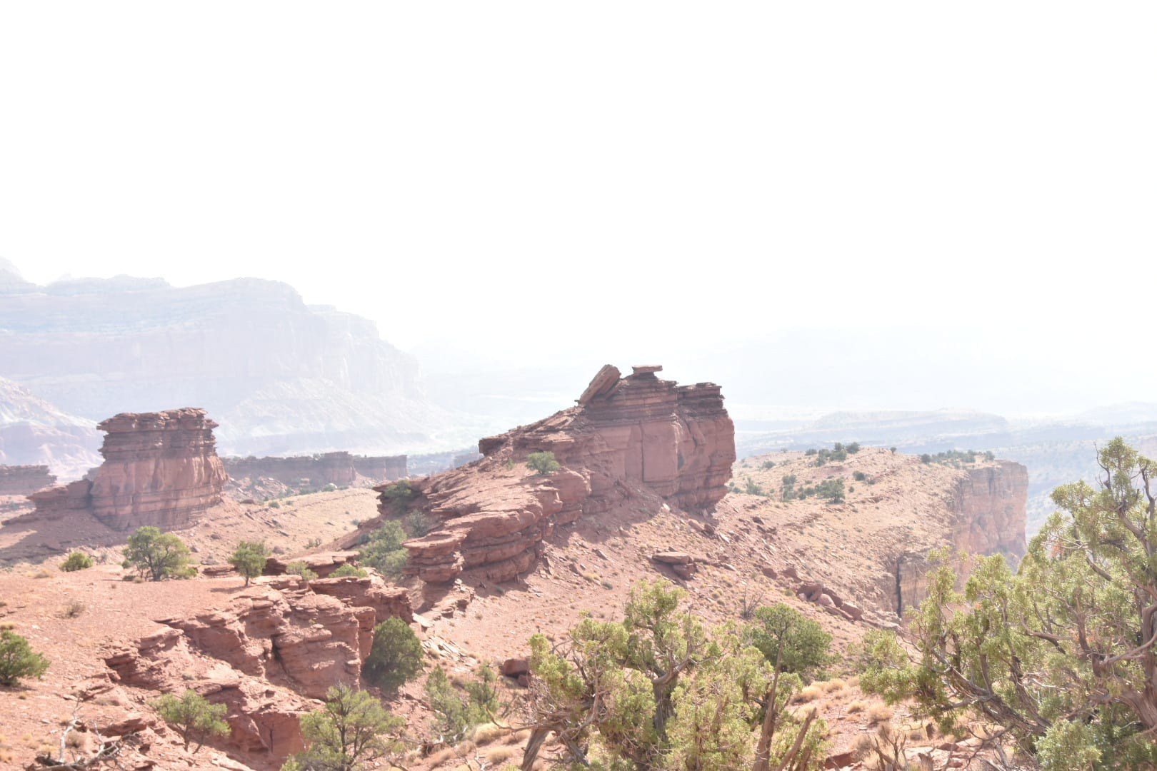 Sunset Point at Capitol Reef National Park
