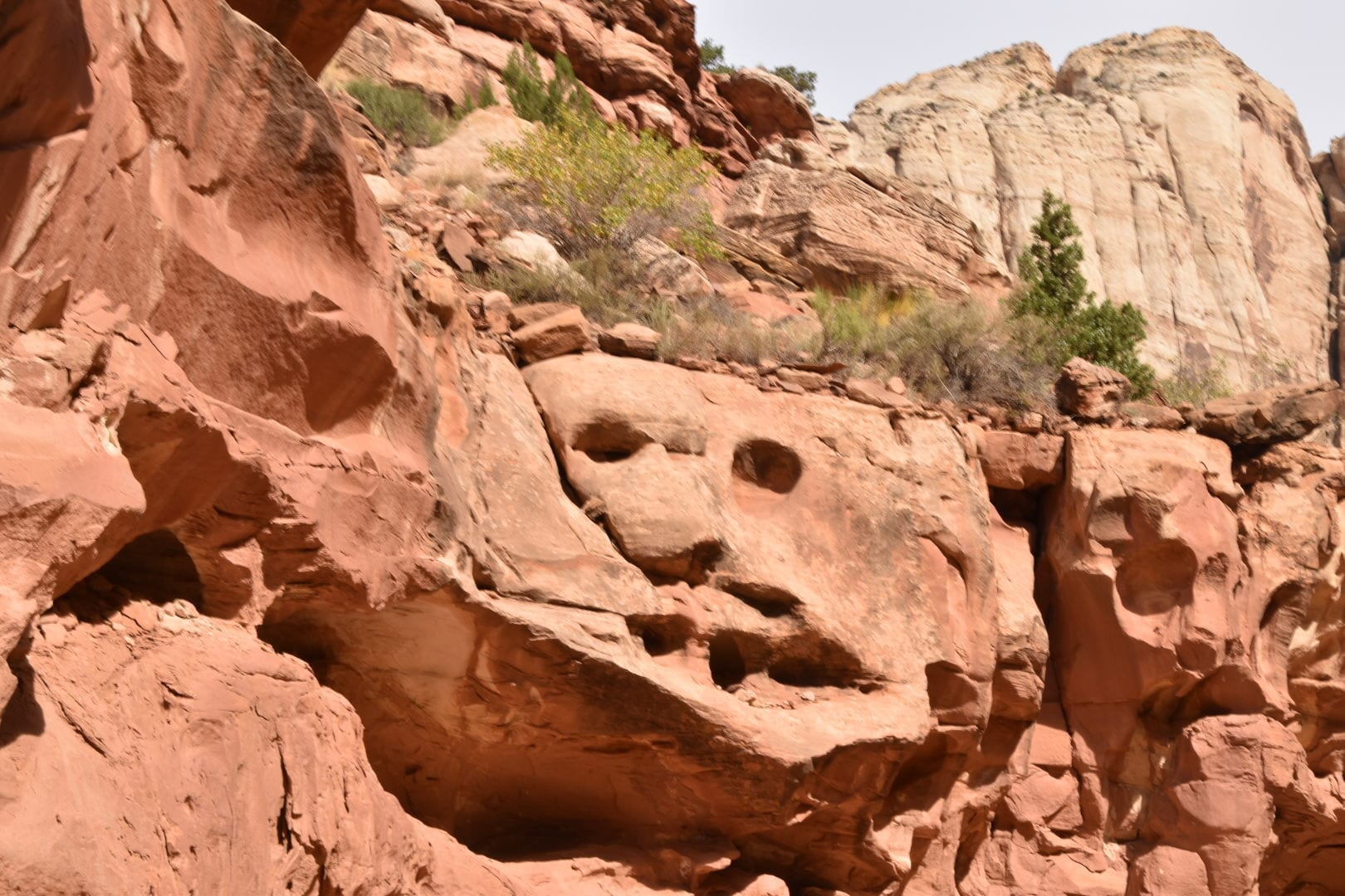Grand Wash Hike at Capitol Reef National Park