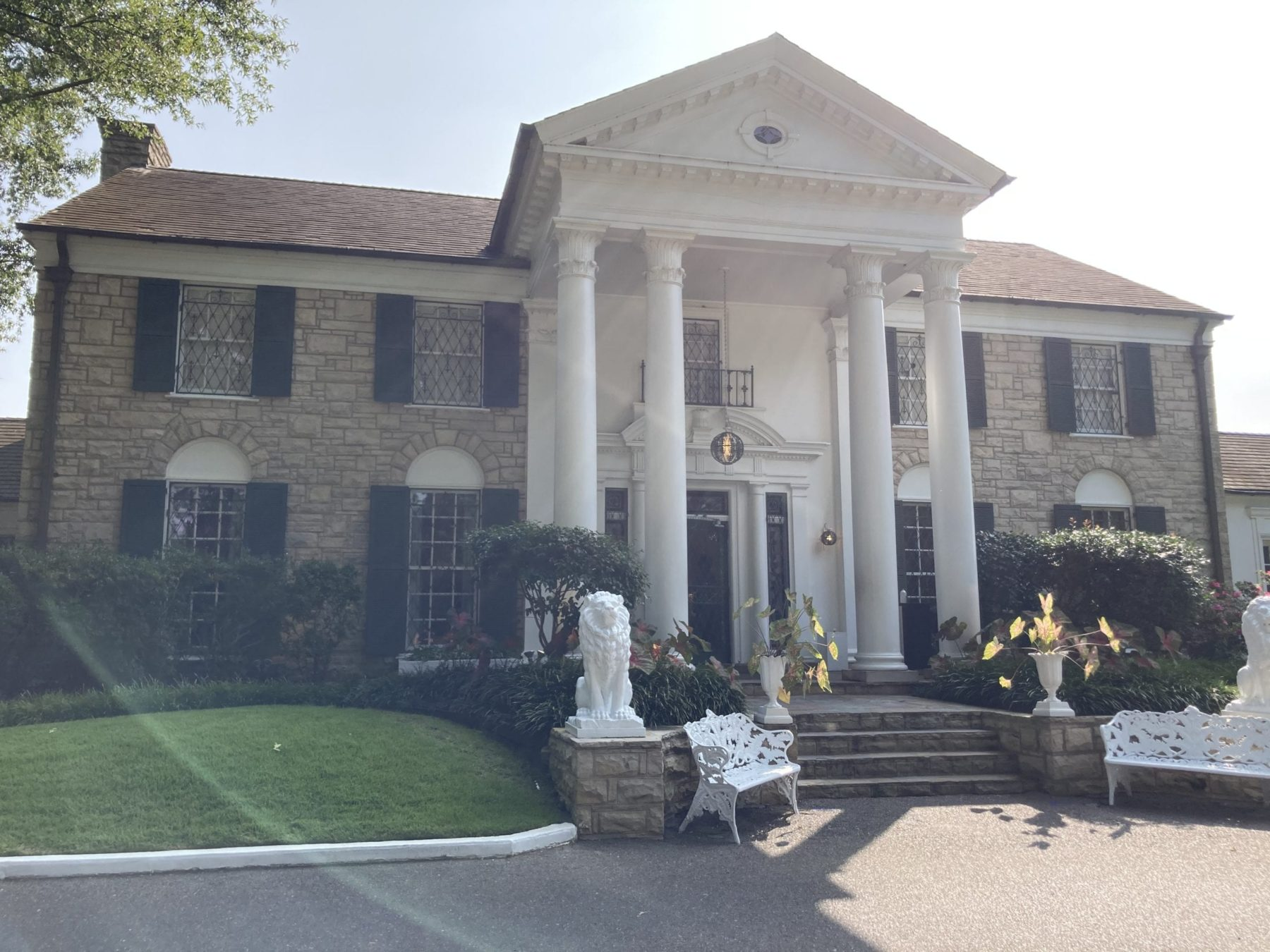 Visit Graceland in Memphis Tennessee
