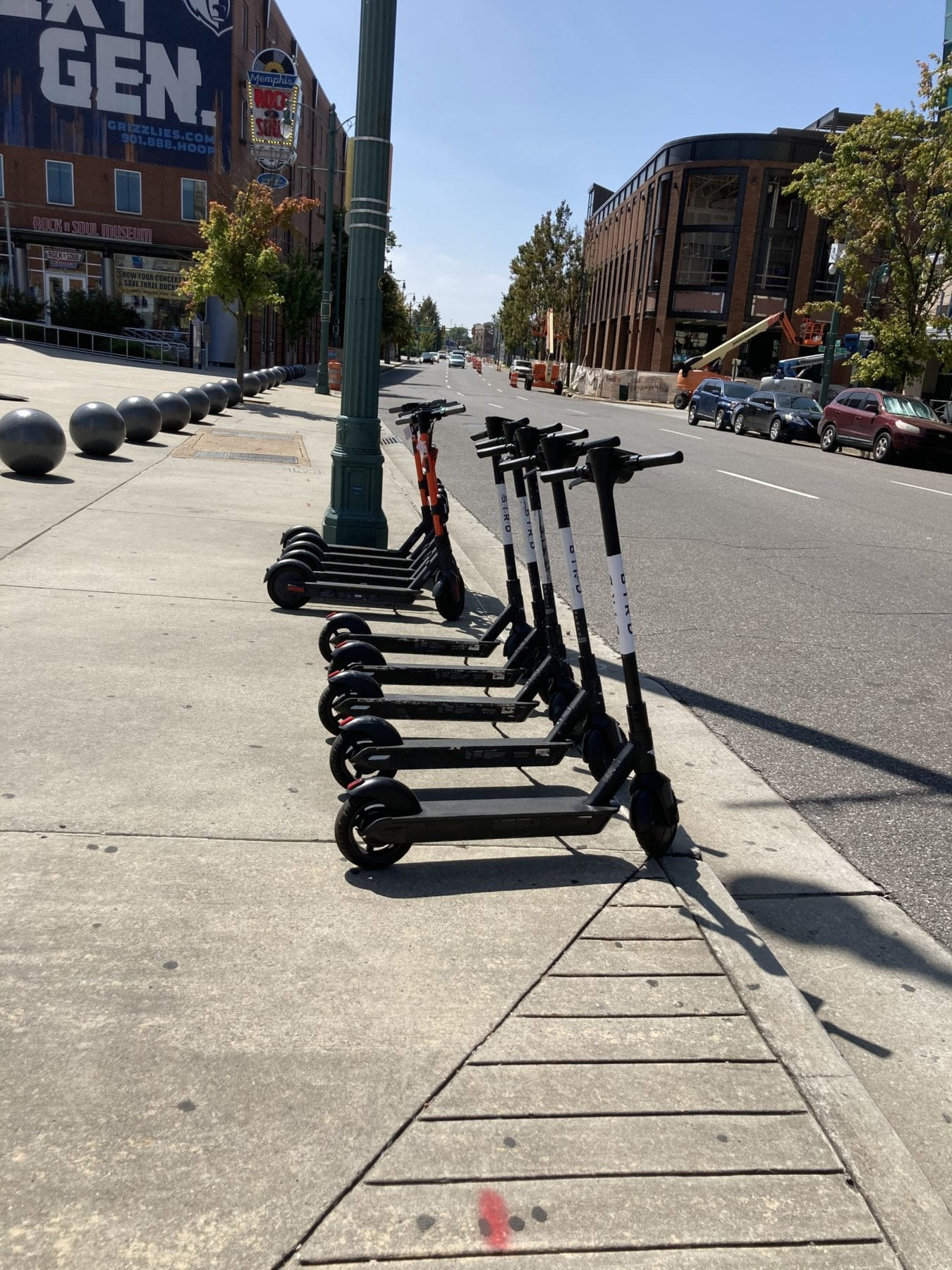 Scooters in Memphis