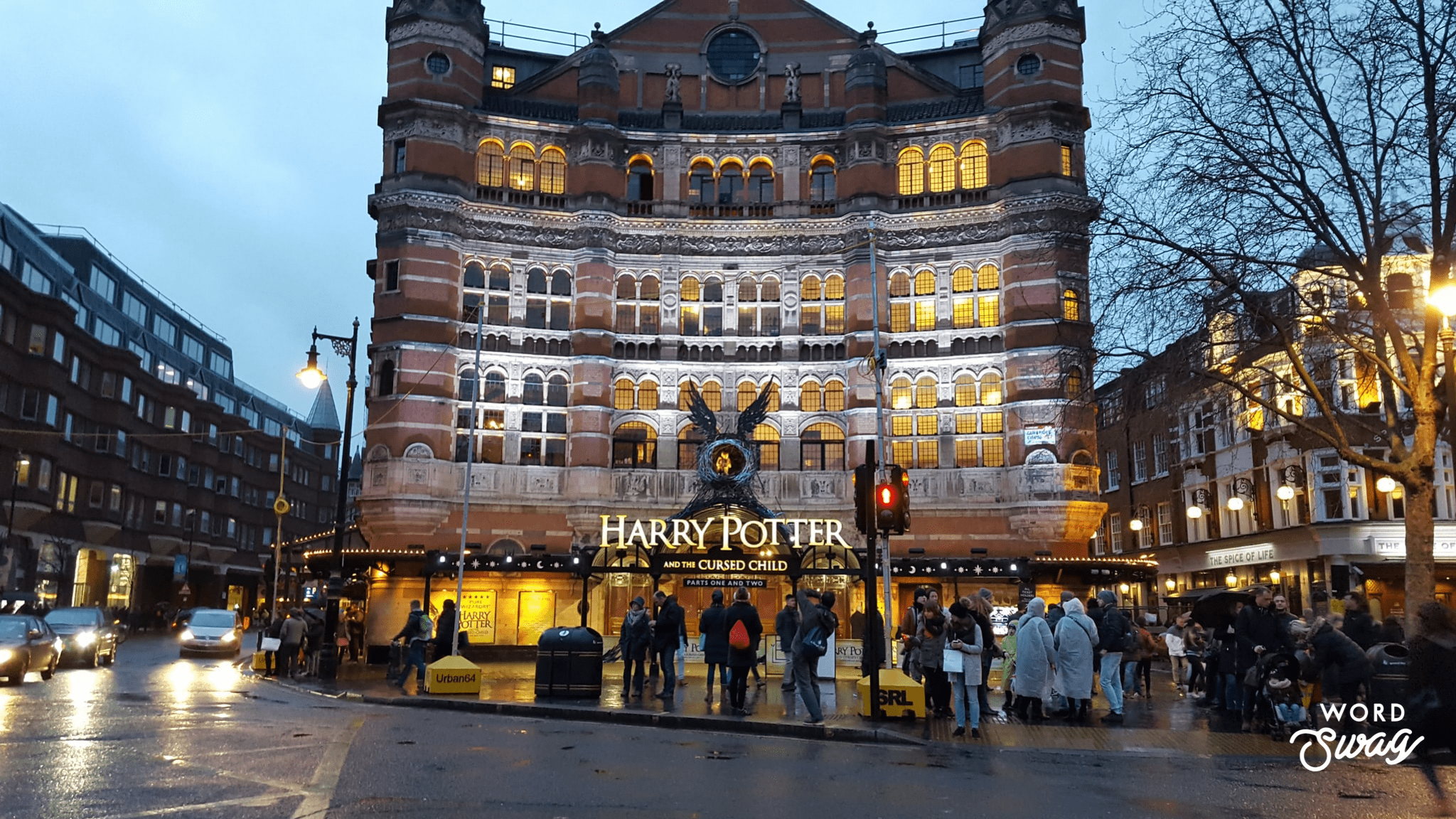Harry Potter things to do in London the cursed child
