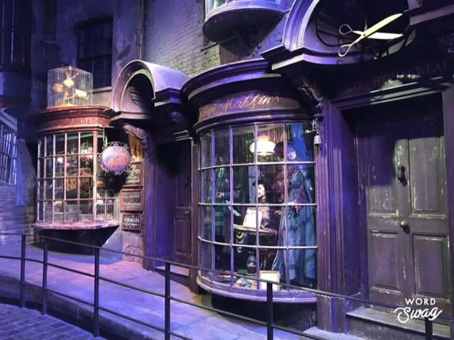 Diagon Alley at Harry Potter Studio London