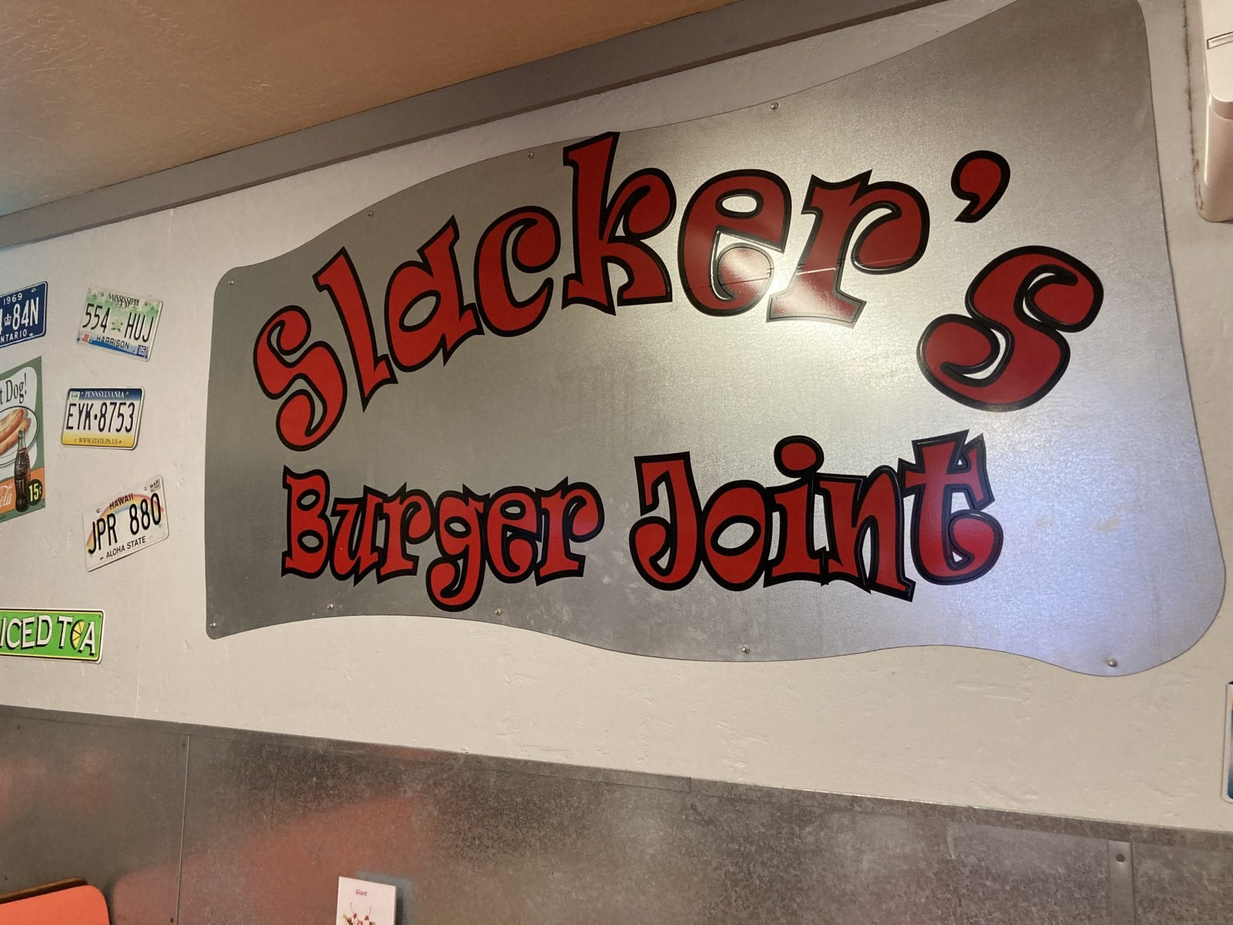 Slackers Burger Joint near Capitol Reef National Park