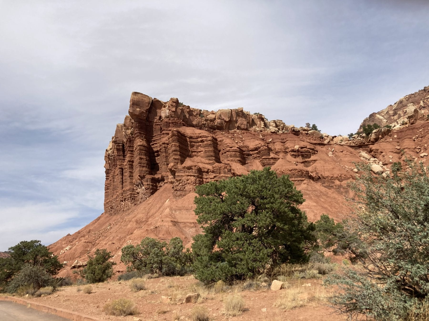 Scenic Road Trip at Capitol Reef National Park