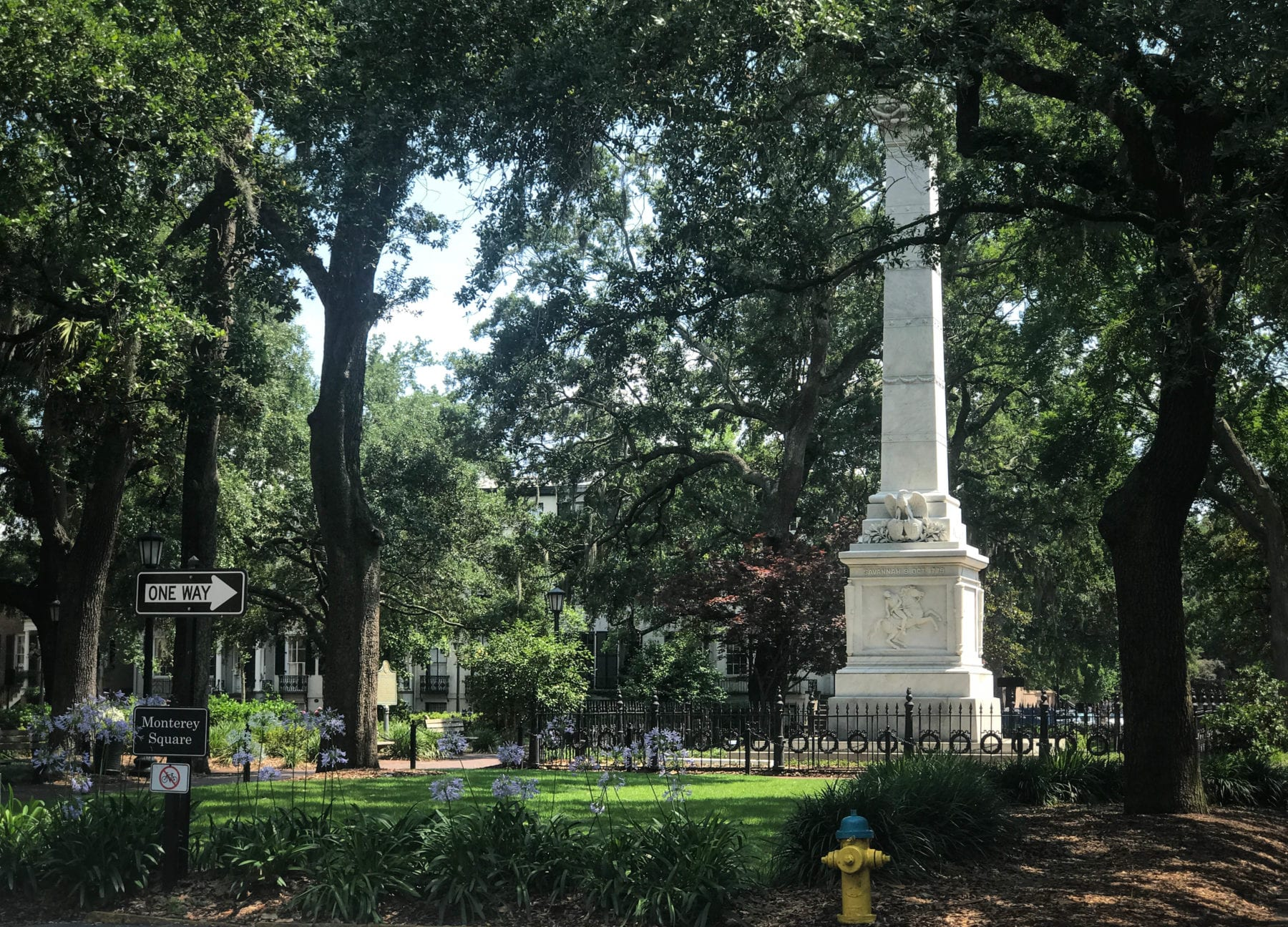 Historical Sites on the East Coast -Monterery Square