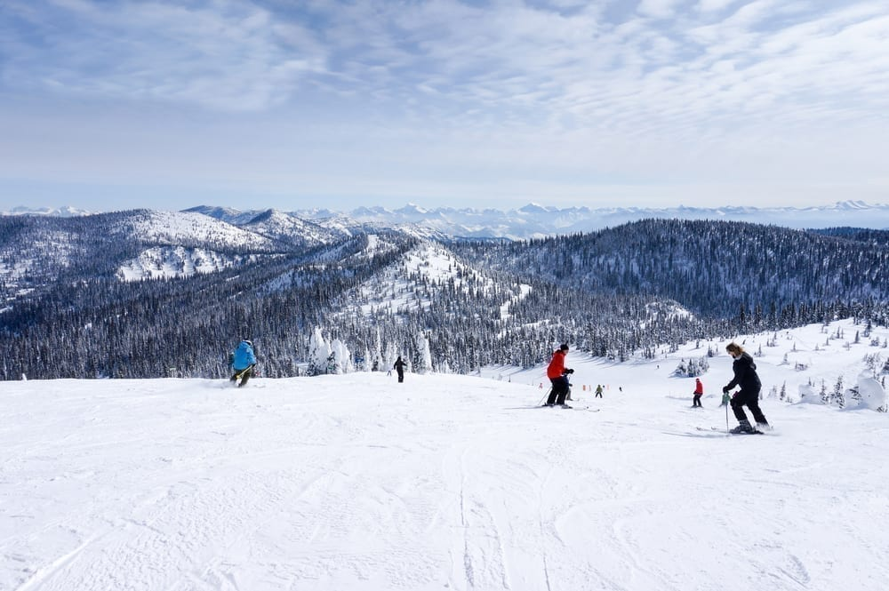 Best Beginner Ski Resorts - Whitefish Montana