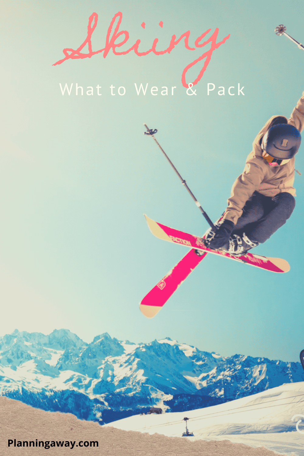 What to wear skiing pin for pinterest