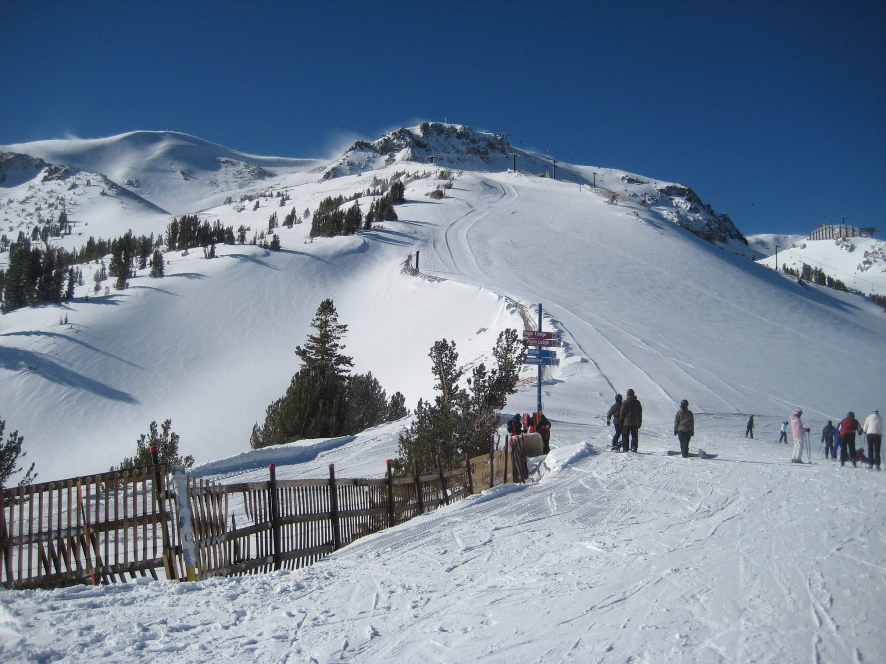 Beginner Ski Resorts Mammoth Mountain