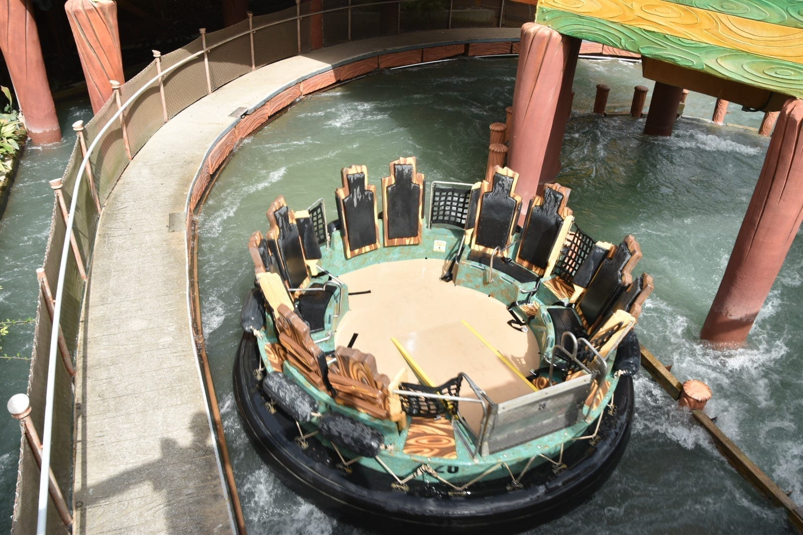 Best rides at islands of Adventure -Popeye River Ride at Universal