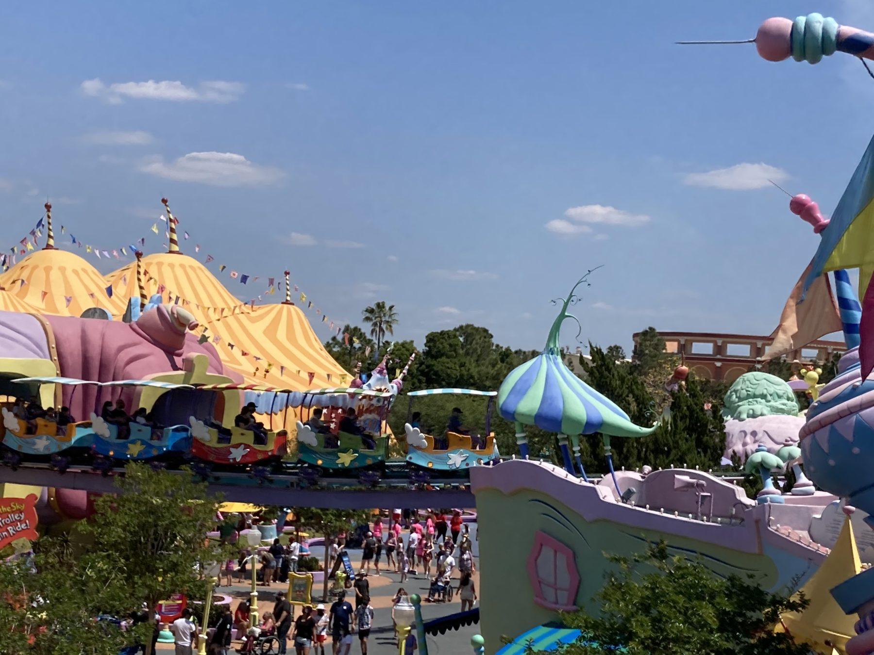 rides at Islands of adventure