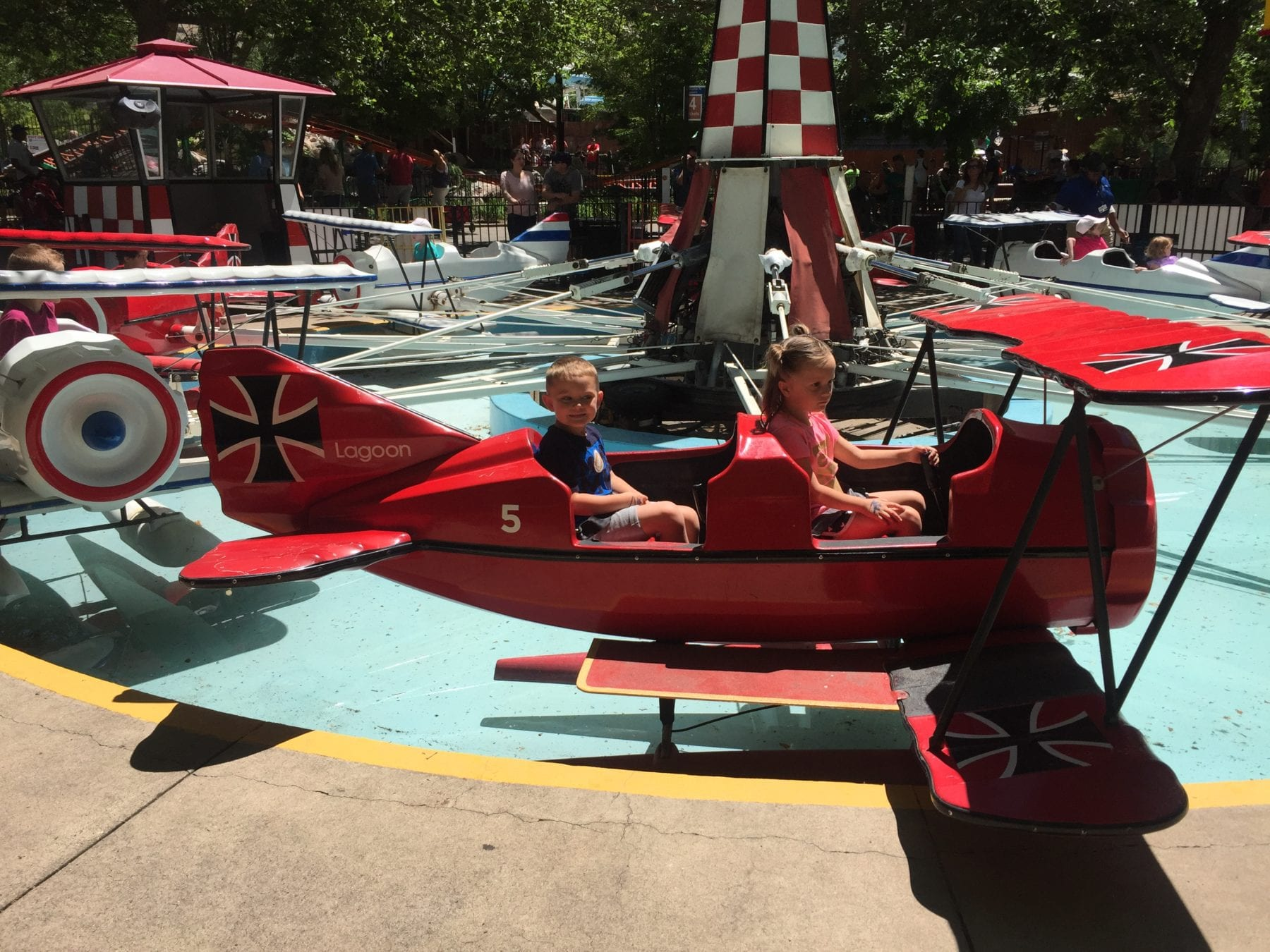 Things to do in Utah with kids - lagoon