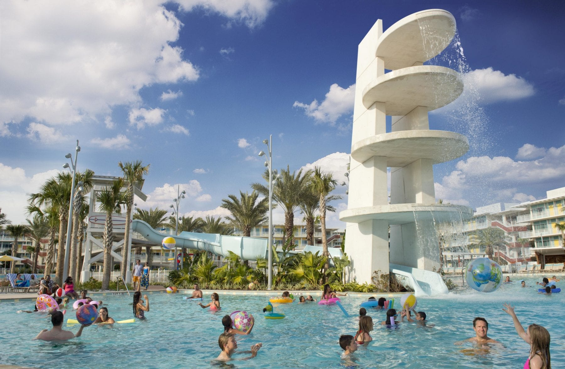 Cabana Bay Resort in Orlando