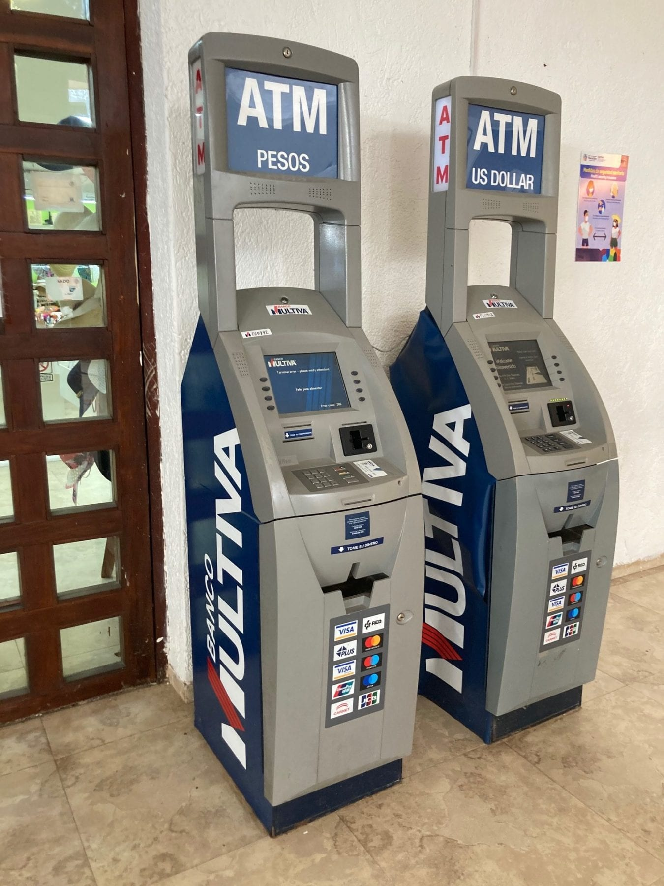 Tips for Cancun - ATM