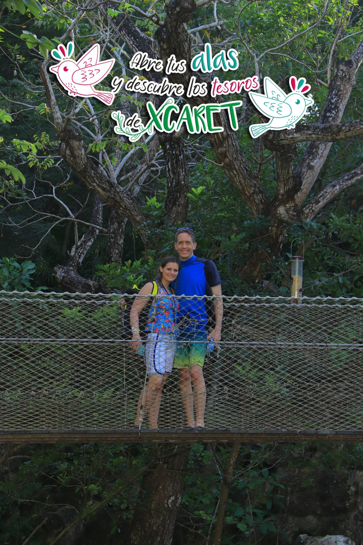 Activities at Xcaret - Aviary