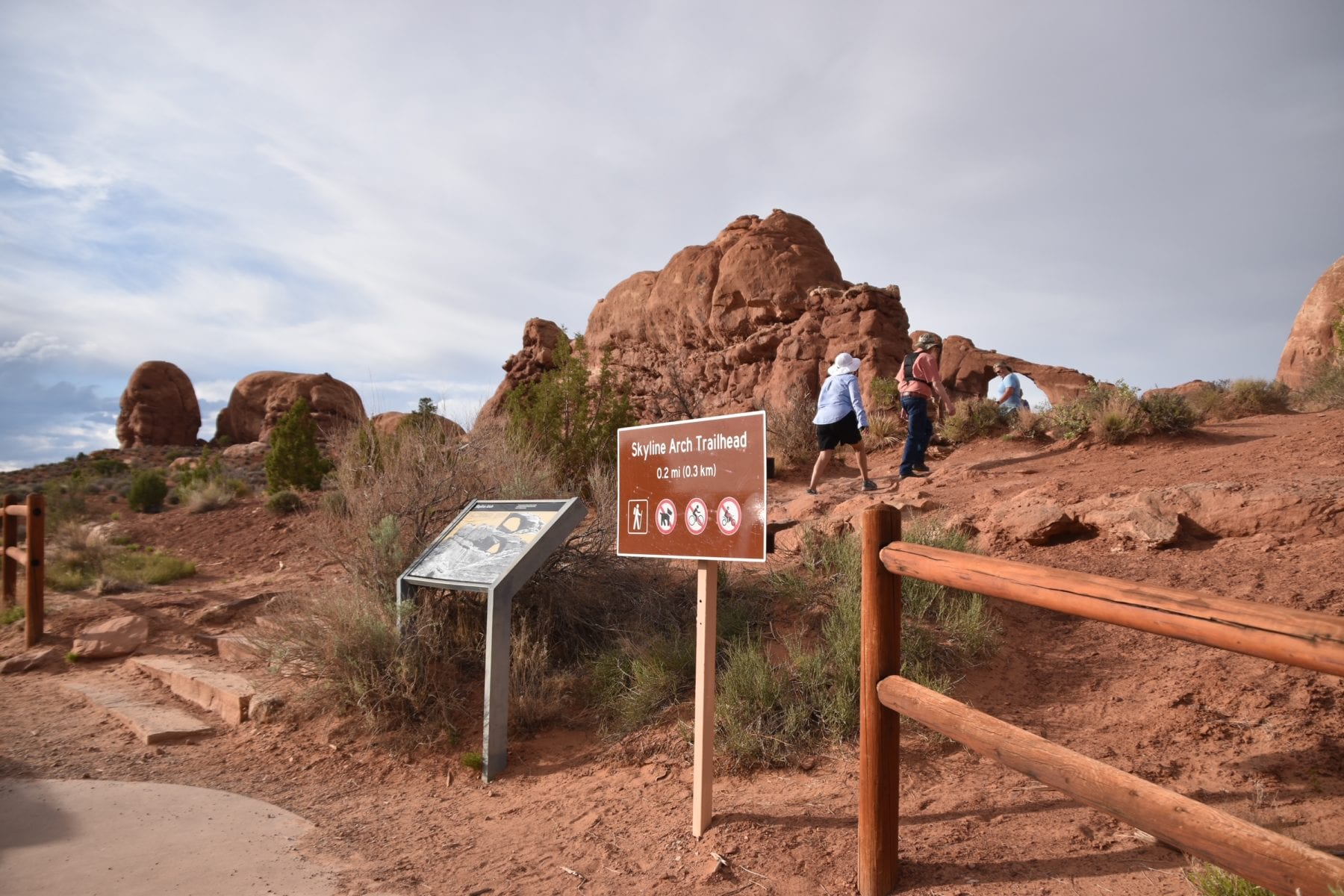 Skyline Trail at Arches National Park