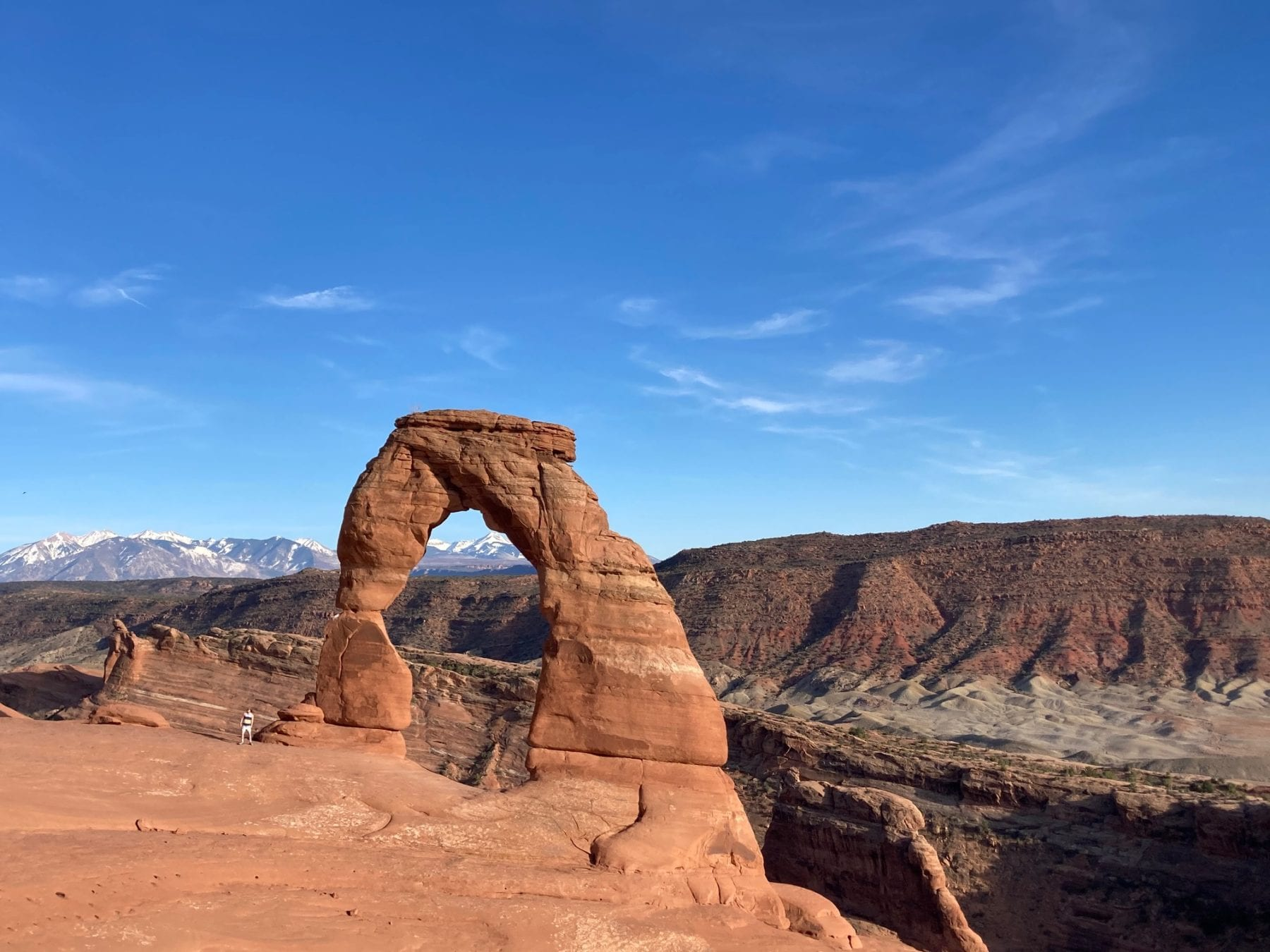 Hiking Delicate Arch At Arches National Park