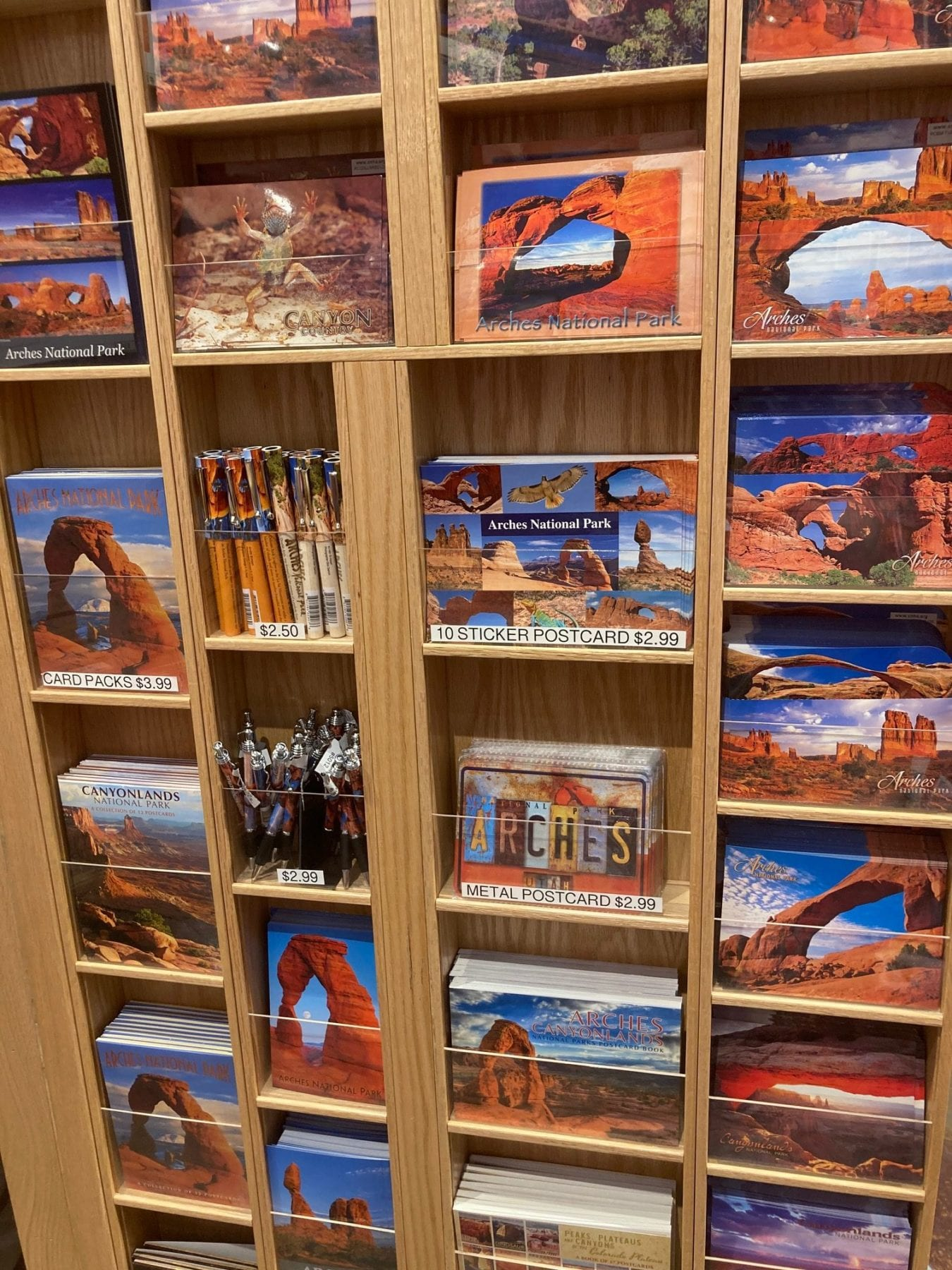 Gift Shop at Arches National Park