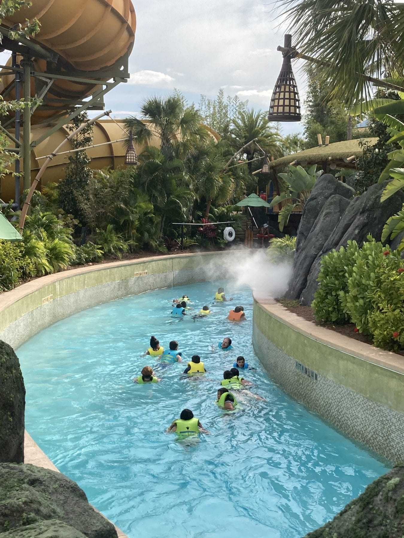 Volcano Bay Rides The fearless River