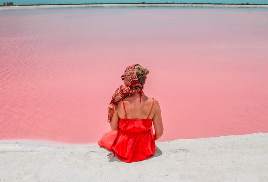 Day trip From Cancun to Las Coloradas