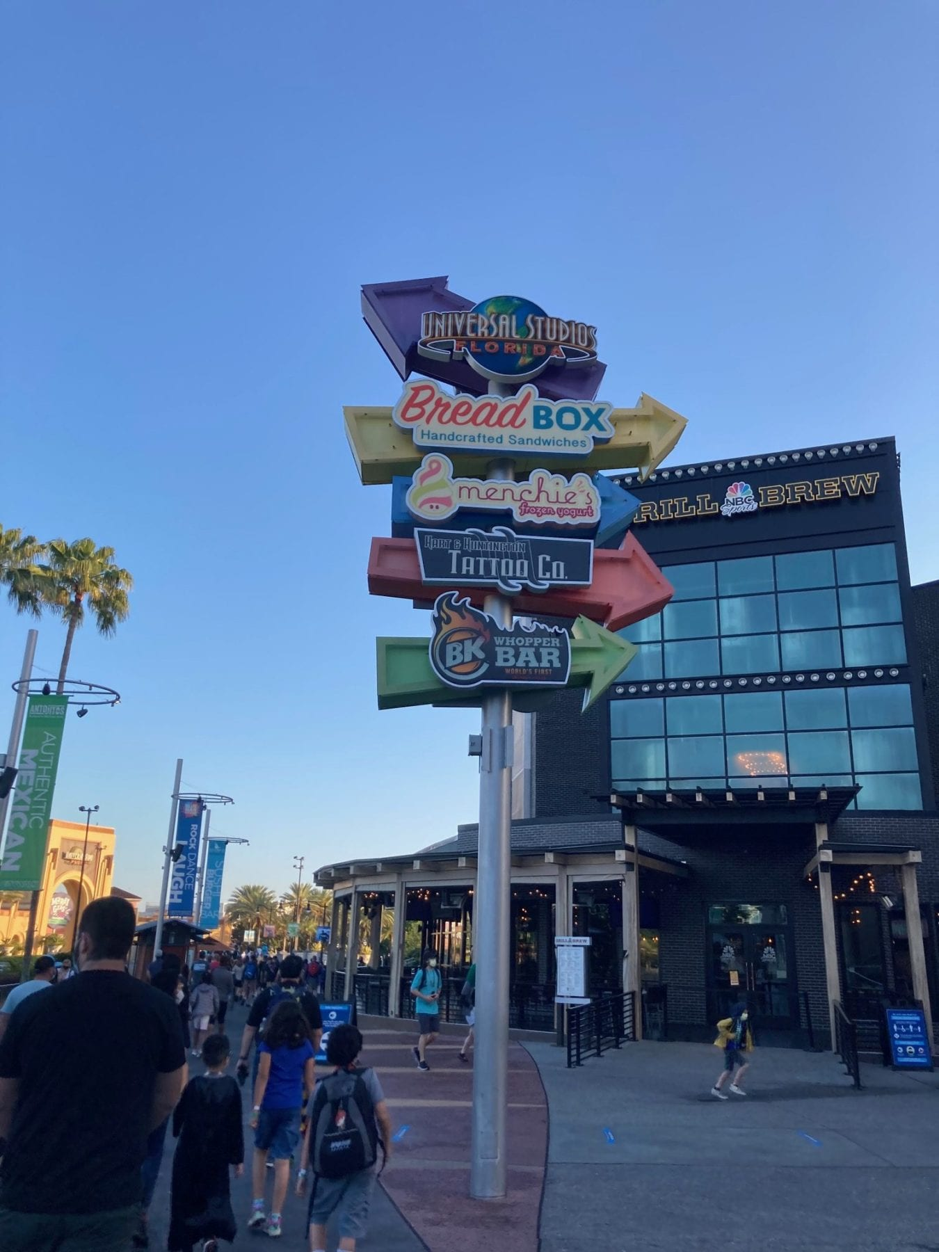 Places to eat at city walk Orlando