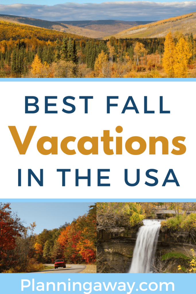 Best Fall Vacation in the USA