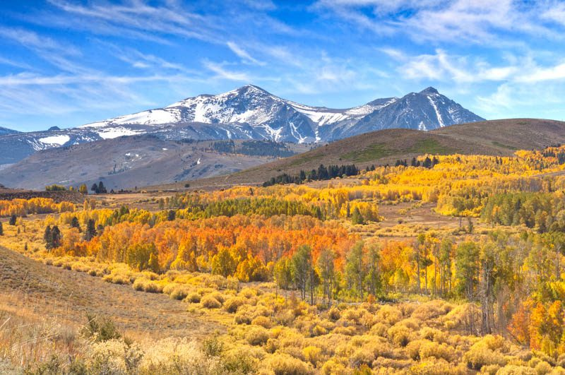 Best Fall Vacations - Mammoth Lakes