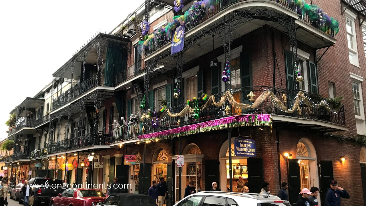 New Orleans in Fall